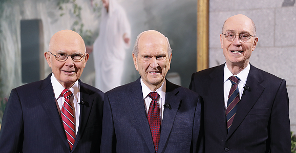The First Presidency of The Church of Jesus Christ of Latter-day Saints.